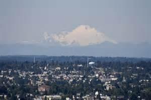 Seattle Washington Mountains