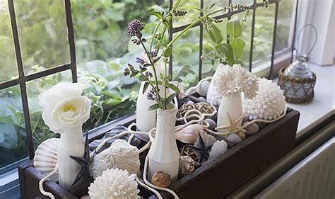 Fensterbank Dekorieren Mit Steinen