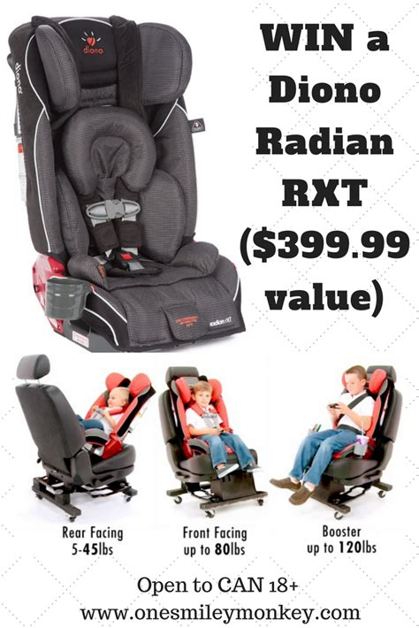 diono radian rxt car seat review giveaway