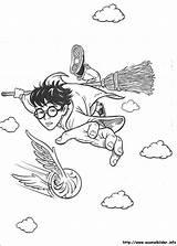 Potter Harry Ausmalbilder Malvorlagen sketch template