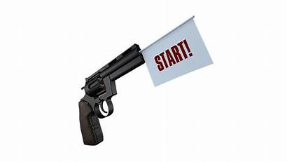 Start Gun Bang Startschot Pistol Shot Shooter