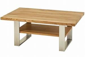 Lederpflege Für Möbel : couchtisch 110x70cm aus massiver eiche mit ablageboden von henke m bel ~ Markanthonyermac.com Haus und Dekorationen
