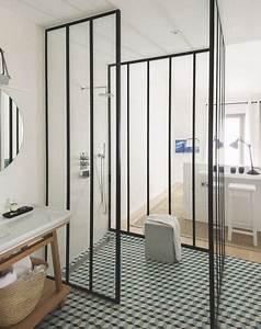 douche italienne design ecologique manche design et With porte de douche style verriere