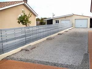 Cloture Pvc En Kit : barri re pvc de jardin en kit cl ture ajour e chloris ~ Melissatoandfro.com Idées de Décoration