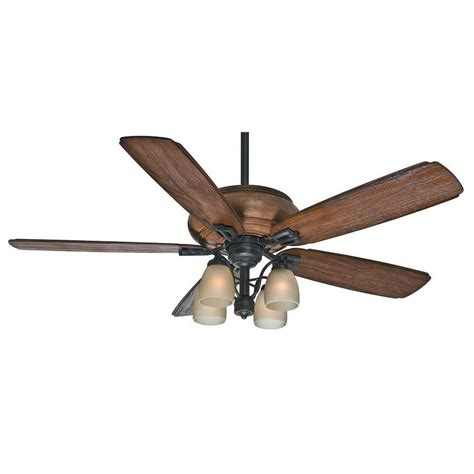 60 inch ceiling fan with light and remote shop casablanca heathridge 60 in aged steel indoor outdoor