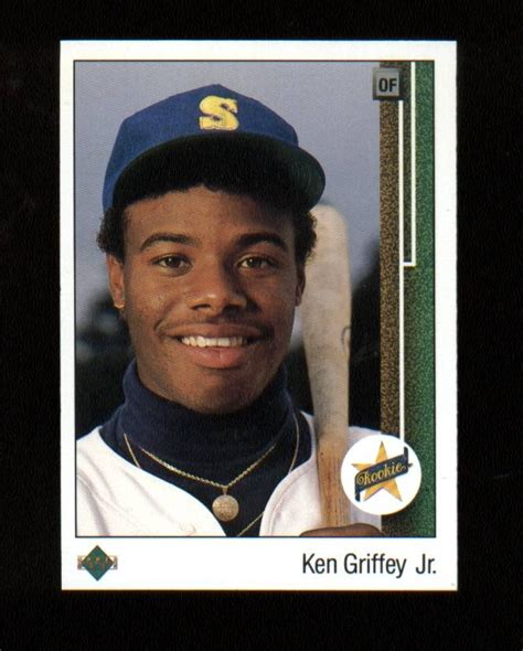 deck ken griffey jr 355 1000 images about baseball cards on auction