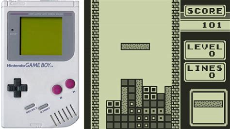 Tetris Nintendo 1989 Game Boy Gameplay Youtube