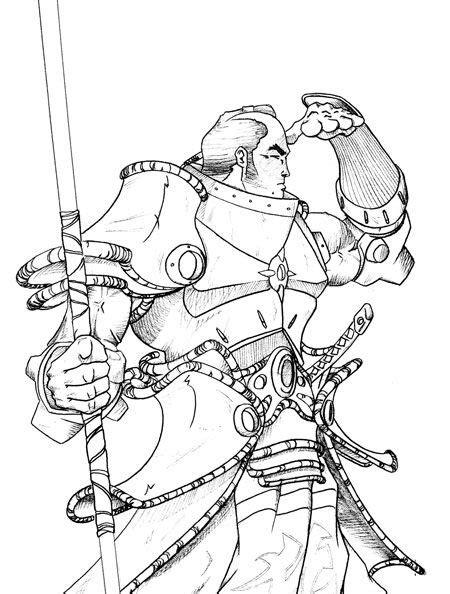 Samurai Coloring Pages - Democraciaejustica