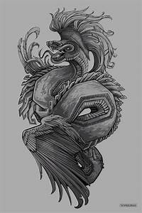 Quetzalcoatl Design by Vyrilien on DeviantArt | quetzal ...