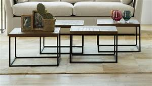 dans ce salon design les 5 idees a retenir With table salon bois metal