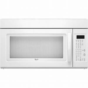 Whirlpool Over The Range Microwave 1 7 Cu  Ft  Wmh2175xvq