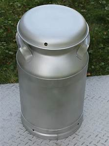 Made, In, The, Usa, New, Hd, Stainless, 10, Gallon, Milk, Can