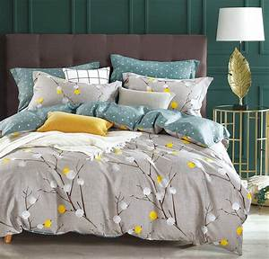 Grey, And, Yellow, Bedding, Sets, Sale, U2013, Ease, Bedding, With, Style