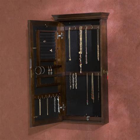 hanging jewelry armoire 25 beautiful hanging jewelry armoires zen merchandiser