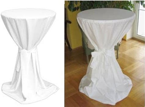 high top cocktail table cloths 100 polyester jersey stretch bistro table cover with belt