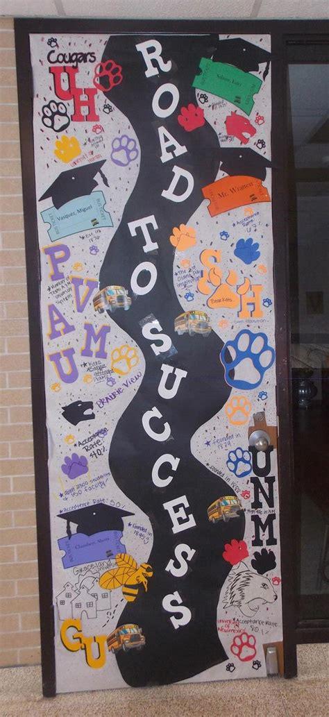 college application week door decorating contest
