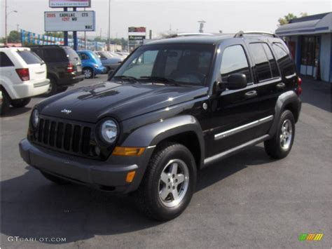 black jeep liberty interior 2006 black jeep liberty sport 4x4 16896775 gtcarlot com