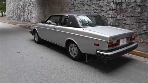 Volvo Coupe For Sale by 1978 Volvo 262c Bertone Coupe For Sale At Motorcar Studio
