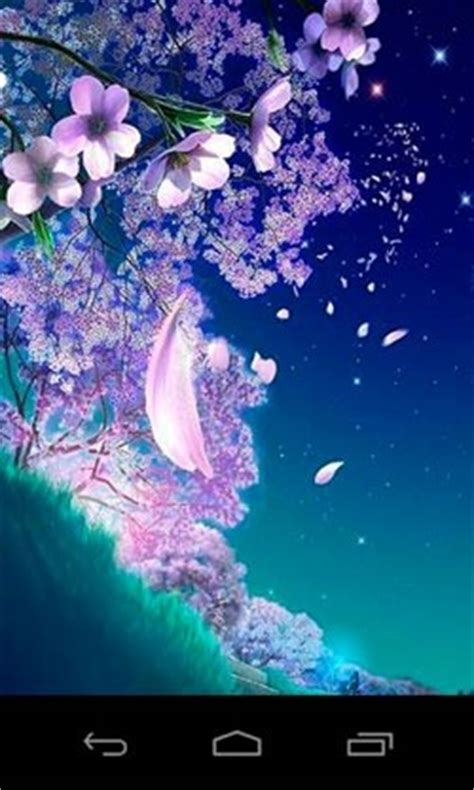 android wallpaper  sakura magic