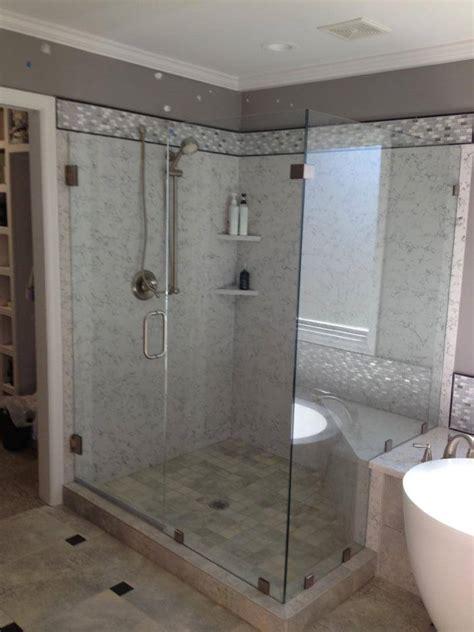 frameless glass shower door photo gallery precision glass