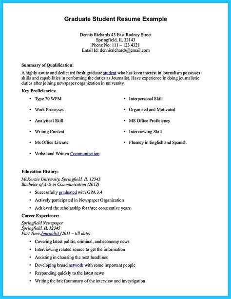resume  fresh graduate accounting student  resume