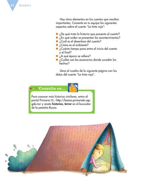 Libro de español 6 grado contestado pag 132. Español Sexto grado 2016-2017 - Online - Página 163 de 184 ...