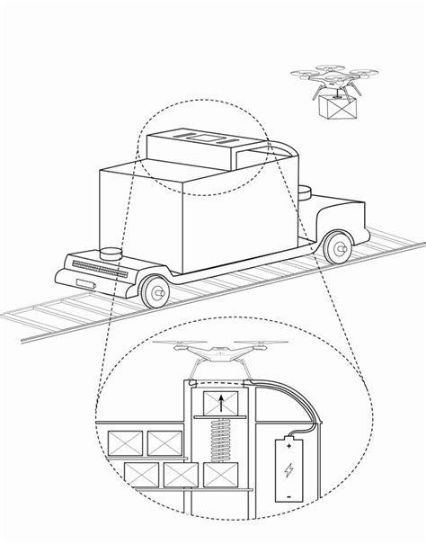 Autonomous Flatcars Could Help Drones Deliver Goods