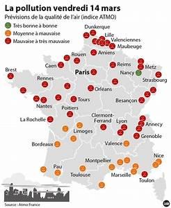 Carte Pollution Air : les villes fran aises face la pollution ~ Medecine-chirurgie-esthetiques.com Avis de Voitures