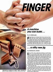 DIY Finger Joint Machine • WoodArchivist