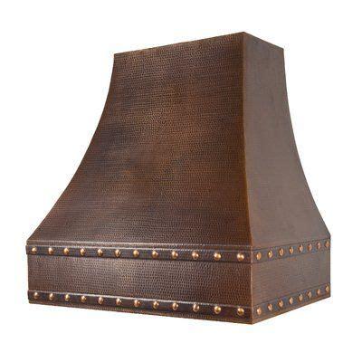 premier copper products   cfm ducted wall mount range hood   kitchen vent hood
