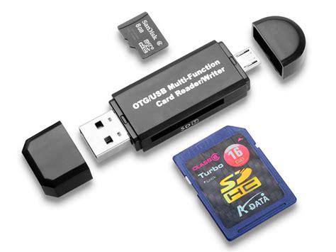 microusb    otg sdmicro sd card reader