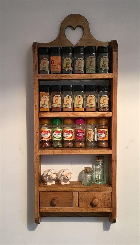 Spice Rack Shelves by 2 Drawer Pallet Spice Rack Kitchen Board Pallet Spice