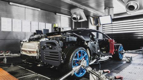 Bugatti is making only 500 units of the chiron and is now ready to show off the very first one built for a customer from the united states. Here's The Bugatti Chiron's Tacked-On American-Market Bumper Lumps