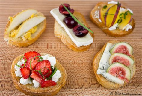 fruit canapes cheese canapes stasty