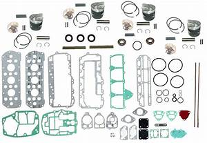 Mercury Outboard 75-85 Hp 4-cylinder Complete Powerhead Rebuild Kit