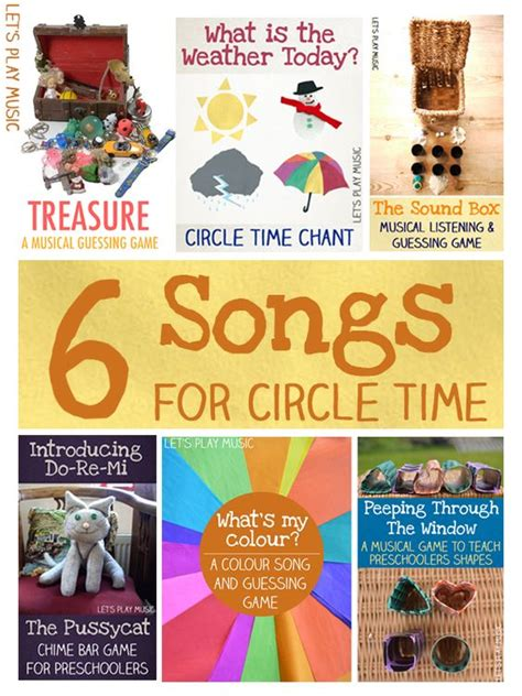 6 circle time songs circles circle time and songs 114 | a688fdb7c450c8af8c1cb71b42ffabf0