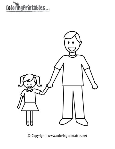 fathers day coloring page   holiday coloring printable