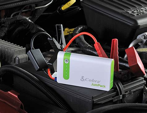 This Battery Pack By Cobra Electronics Can Jump Start Your