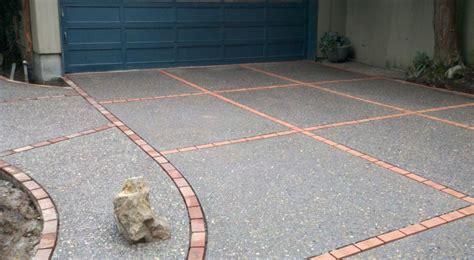 exposed aggregate concrete gwc decorative concrete