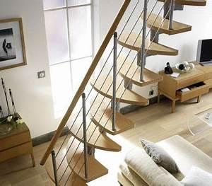 Rampe Escalier Lapeyre : rampe d 39 escalier et escalier bois alu quart tournant c t maison ~ Carolinahurricanesstore.com Idées de Décoration
