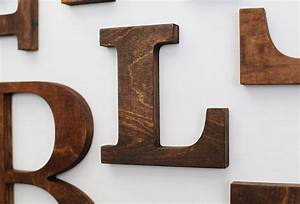 l alphabet wooden letters 6 7 inch vintage decorative letter With fancy wooden letters