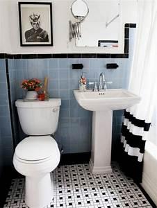 beautiful plafond salle de bain noir et blanc images With quelle peinture pour plafond salle de bain