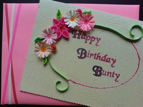 chami crafts handmade greeting cards happy birthday