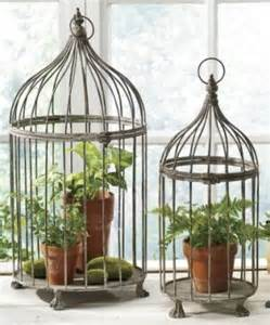 home interior bird cage birdcage decorating ideas card holder centerpiece candles