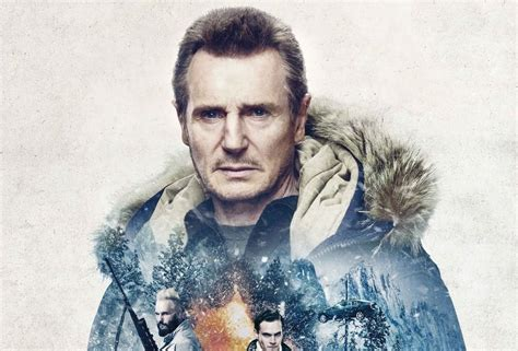 liam neeson featured   poster  cold pursuit
