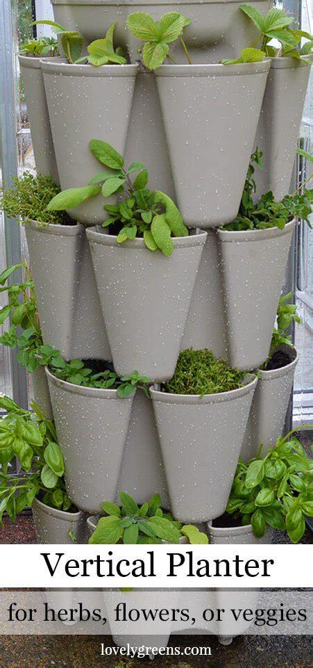 What Can You Grow In A Vertical Garden by Grow A Vertical Herb Garden In A Greenstalk Planter