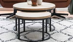 Table Gigogne Design : table basse gigogne vaucluse en ch ne for me lab ~ Teatrodelosmanantiales.com Idées de Décoration