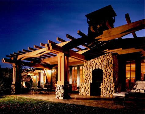 outdoor living spaces for mountain homes mountain architects hendricks architecture