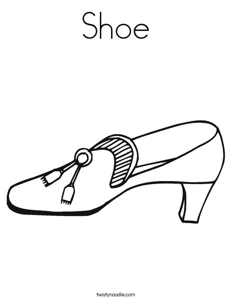 shoes coloring pages coloring pages shoes printable coloring home
