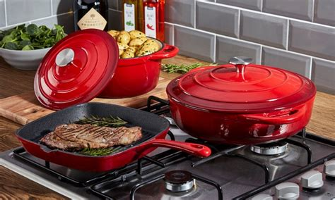 iron cookware cast sets